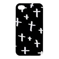 White Cross Apple Iphone 4/4s Premium Hardshell Case