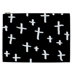 White Cross Cosmetic Bag (xxl)