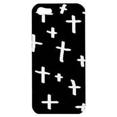 White Cross Apple Iphone 5 Hardshell Case