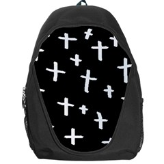 White Cross Backpack Bag