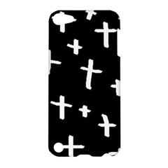 White Cross Apple Ipod Touch 5 Hardshell Case