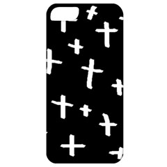 White Cross Apple Iphone 5 Classic Hardshell Case