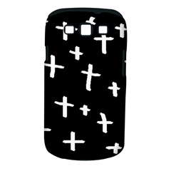 White Cross Samsung Galaxy S Iii Classic Hardshell Case (pc+silicone)