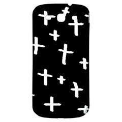 White Cross Samsung Galaxy S3 S Iii Classic Hardshell Back Case