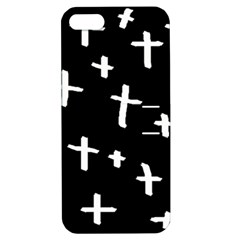 White Cross Apple Iphone 5 Hardshell Case With Stand