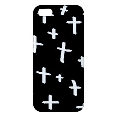 White Cross Apple Iphone 5 Premium Hardshell Case