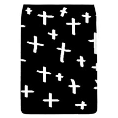 White Cross Flap Covers (l)