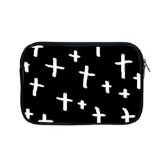 White Cross Apple Ipad Mini Zipper Cases