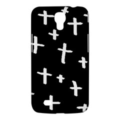 White Cross Samsung Galaxy Mega 6 3  I9200 Hardshell Case