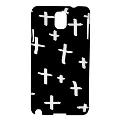 White Cross Samsung Galaxy Note 3 N9005 Hardshell Case