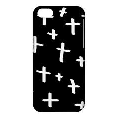 White Cross Apple Iphone 5c Hardshell Case