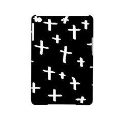 White Cross Ipad Mini 2 Hardshell Cases