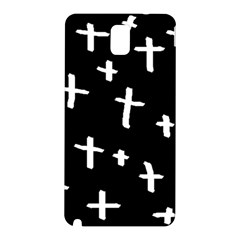 White Cross Samsung Galaxy Note 3 N9005 Hardshell Back Case