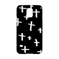 White Cross Samsung Galaxy S5 Hardshell Case