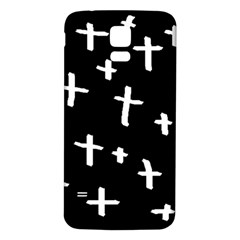 White Cross Samsung Galaxy S5 Back Case (white)