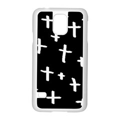 White Cross Samsung Galaxy S5 Case (white)