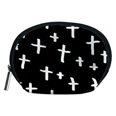 White Cross Accessory Pouches (medium)