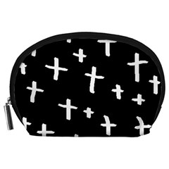 White Cross Accessory Pouches (large)
