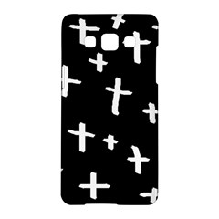 White Cross Samsung Galaxy A5 Hardshell Case
