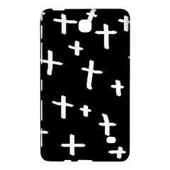 White Cross Samsung Galaxy Tab 4 (8 ) Hardshell Case