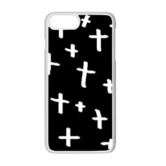 White Cross Apple Iphone 7 Plus Seamless Case (white)