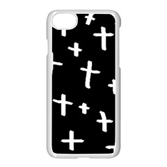 White Cross Apple Iphone 7 Seamless Case (white)