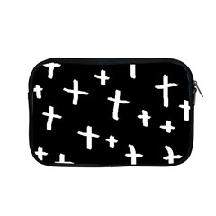 White Cross Apple Macbook Pro 13  Zipper Case