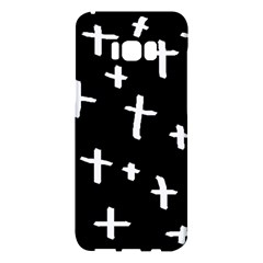 White Cross Samsung Galaxy S8 Plus Hardshell Case