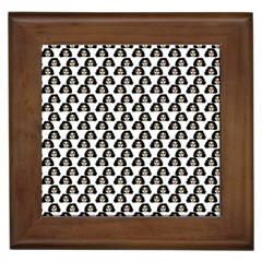 Angry Girl Pattern Framed Tiles