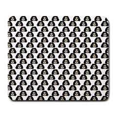 Angry Girl Pattern Large Mousepads