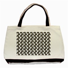 Angry Girl Pattern Basic Tote Bag (two Sides)