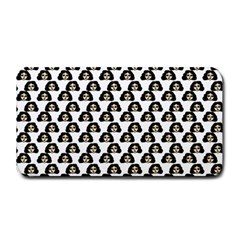 Angry Girl Pattern Medium Bar Mats