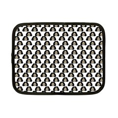 Angry Girl Pattern Netbook Case (small)