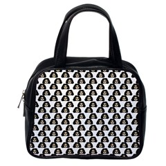 Angry Girl Pattern Classic Handbags (one Side)