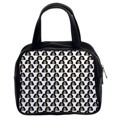 Angry Girl Pattern Classic Handbags (2 Sides)