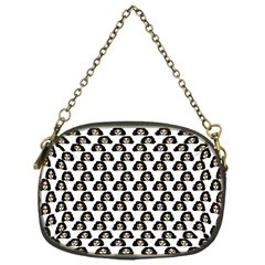 Angry Girl Pattern Chain Purses (one Side)