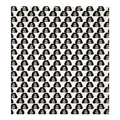 Angry Girl Pattern Shower Curtain 66  X 72  (large)
