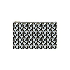 Angry Girl Pattern Cosmetic Bag (small)