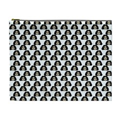 Angry Girl Pattern Cosmetic Bag (xl)