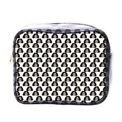 Angry Girl Pattern Mini Toiletries Bags
