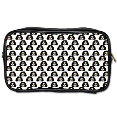 Angry Girl Pattern Toiletries Bags 2 Side