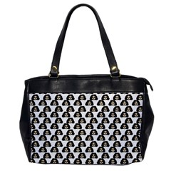 Angry Girl Pattern Office Handbags