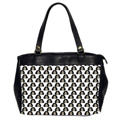 Angry Girl Pattern Office Handbags (2 Sides)