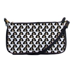 Angry Girl Pattern Shoulder Clutch Bags