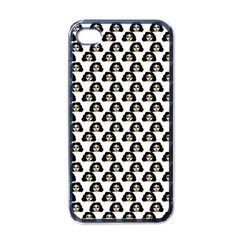 Angry Girl Pattern Apple Iphone 4 Case (black)