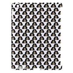 Angry Girl Pattern Apple Ipad 3/4 Hardshell Case (compatible With Smart Cover)