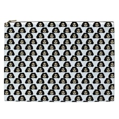 Angry Girl Pattern Cosmetic Bag (xxl)