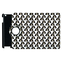 Angry Girl Pattern Apple Ipad 3/4 Flip 360 Case