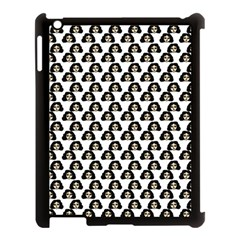 Angry Girl Pattern Apple Ipad 3/4 Case (black)