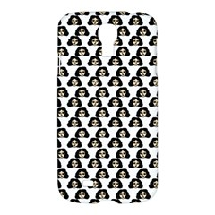 Angry Girl Pattern Samsung Galaxy S4 I9500/i9505 Hardshell Case